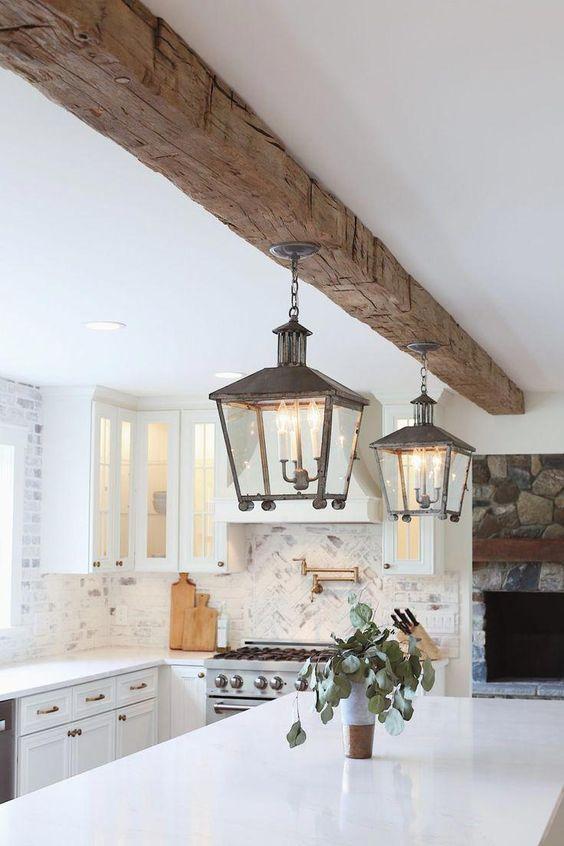 beamed kitchen ideas 11