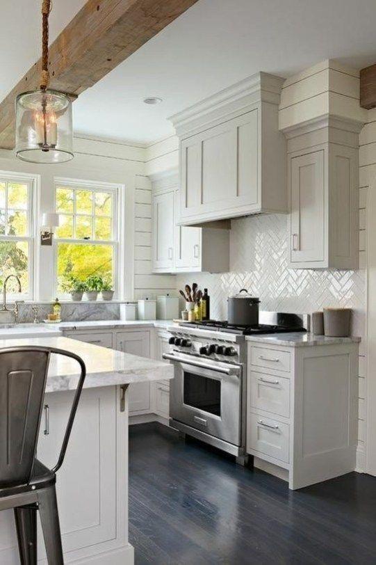 beamed kitchen ideas 12