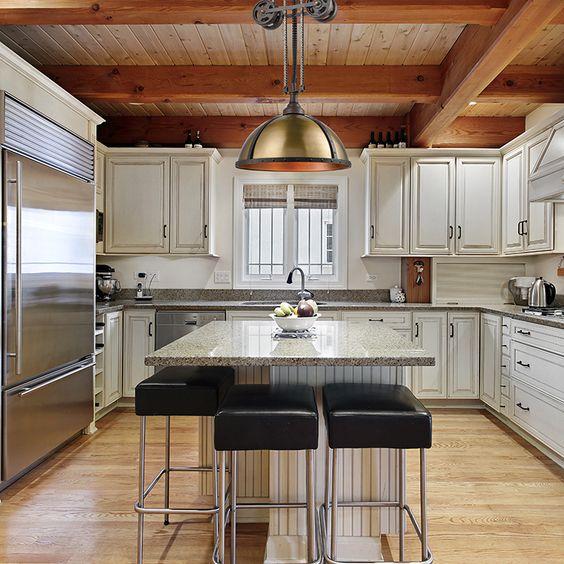 beamed kitchen ideas 19