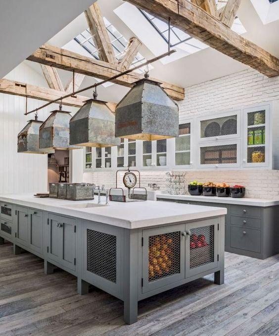 beamed kitchen ideas 2
