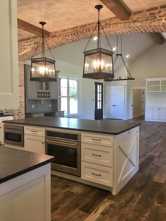 beamed kitchen ideas 20