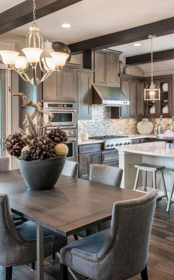 beamed kitchen ideas 21