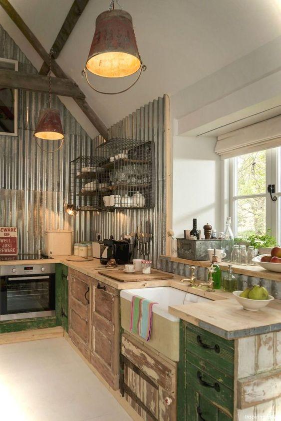 beamed kitchen ideas 23