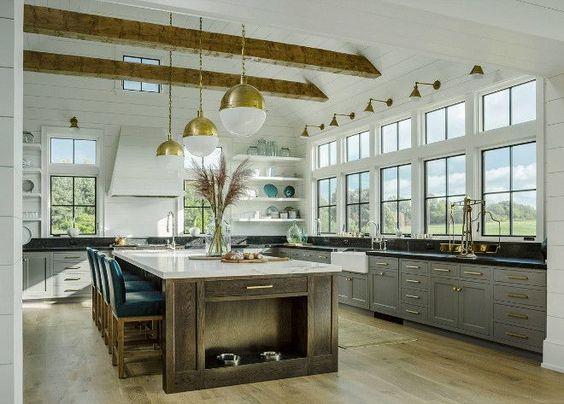 beamed kitchen ideas 4