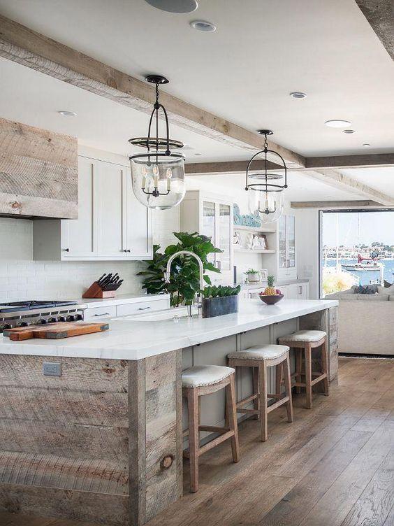beamed kitchen ideas 6