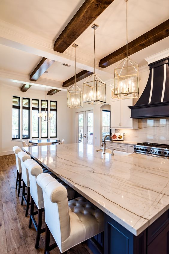 beamed kitchen ideas 8