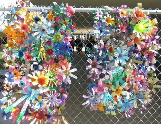 chainlink fence ideas 16