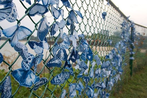 chainlink fence ideas 17