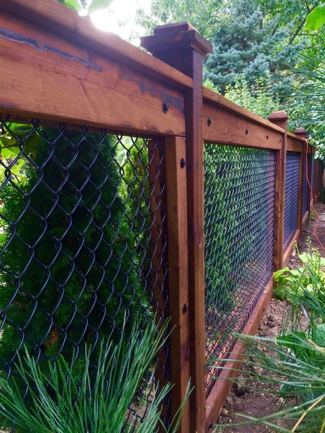 chainlink fence ideas 21