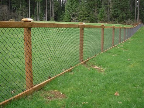 chainlink fence ideas 22