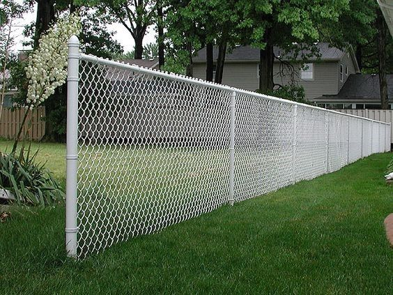 chainlink fence ideas 23