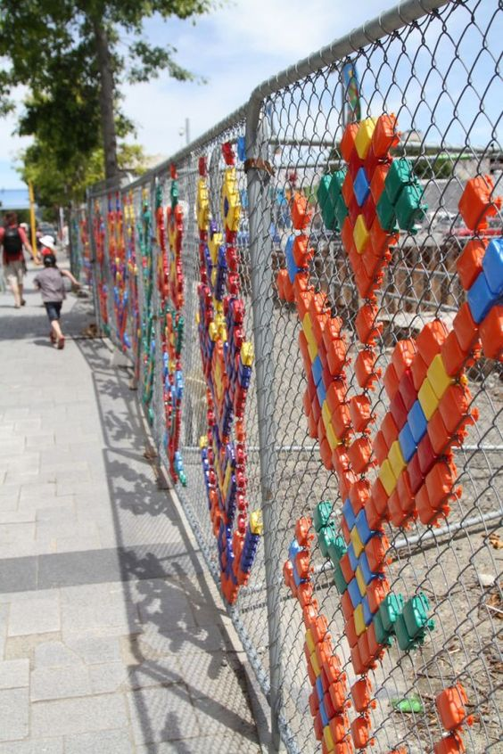 chainlink fence ideas 3
