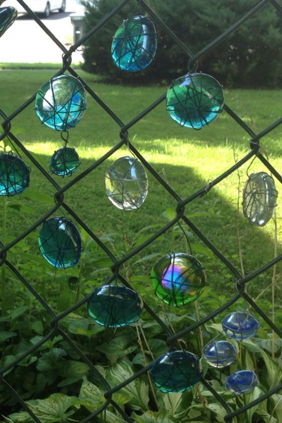 chainlink fence ideas 5