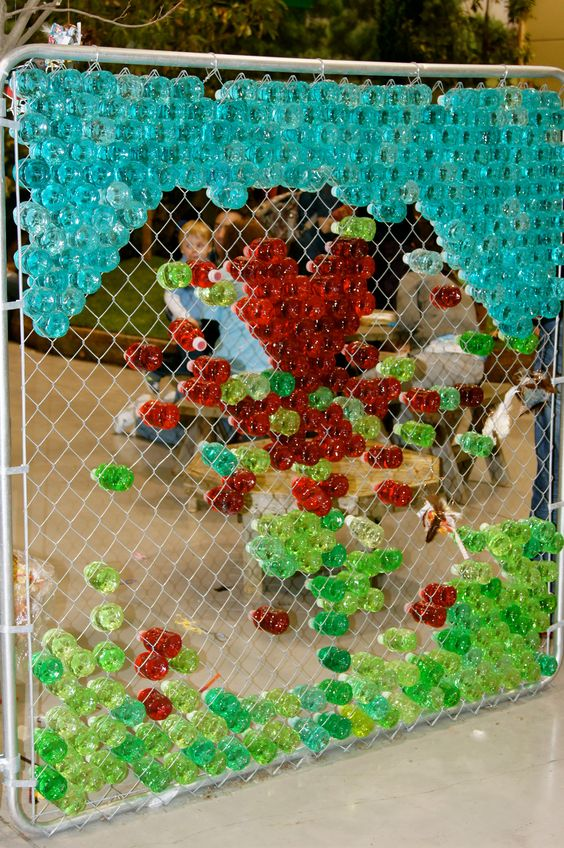 chainlink fence ideas 8