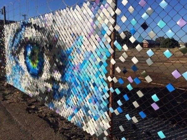 Chainlink Fences Ideas 25 Unique Diy Ideas To Decorate