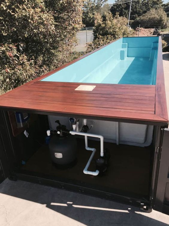 container swimming pool 20