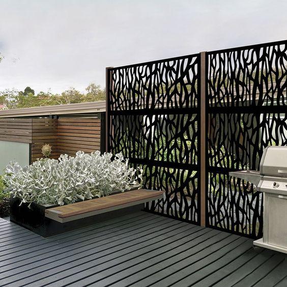 decorative fence 12