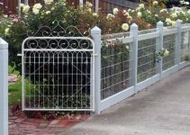 decorative fence feature