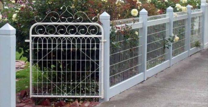 decorative fence feature