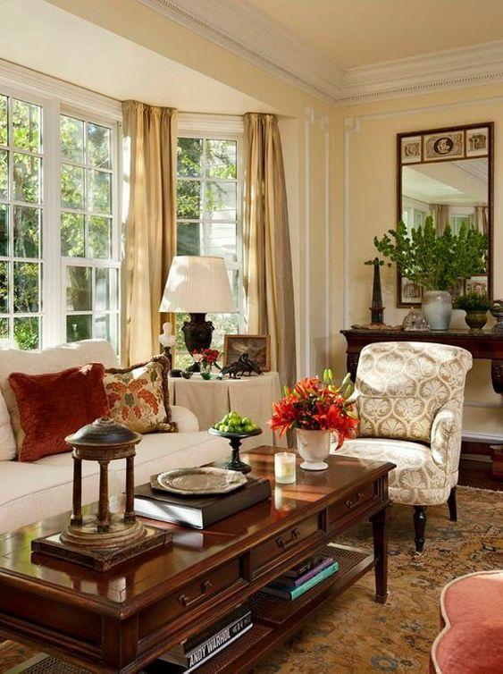 khaki living room 10