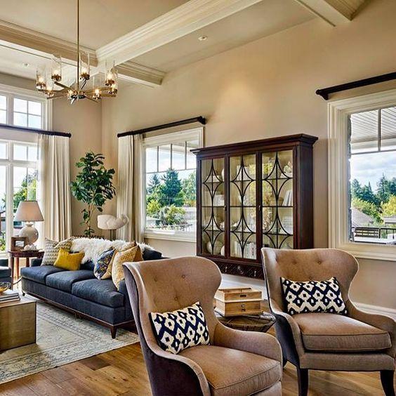 khaki living room 11