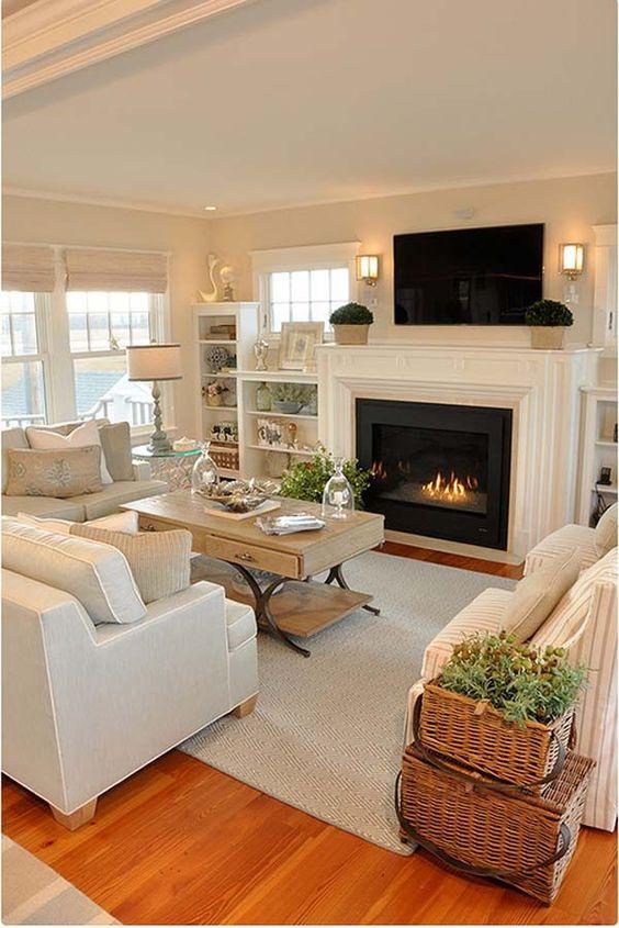 khaki living room 12