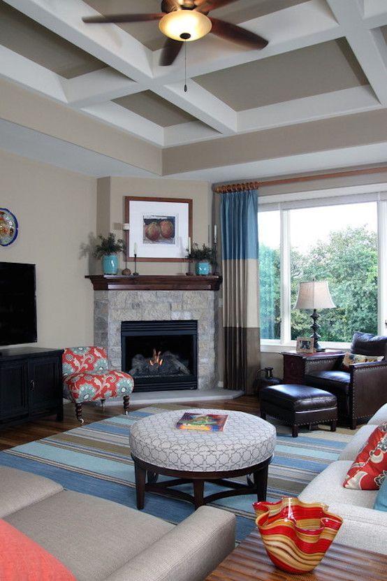 khaki living room 14