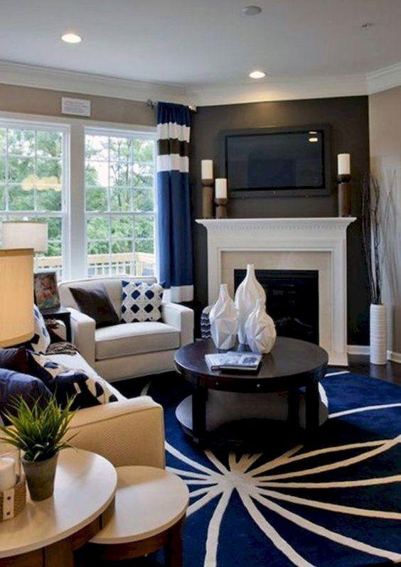 khaki living room 15