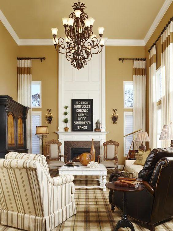 khaki living room 18