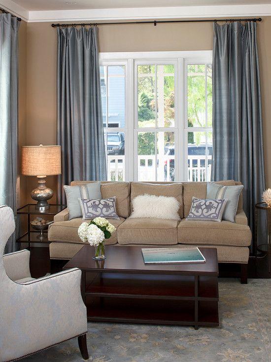 khaki living room 2