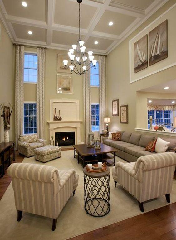 khaki living room 20