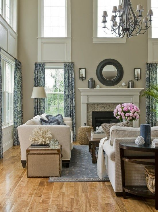 khaki living room 22