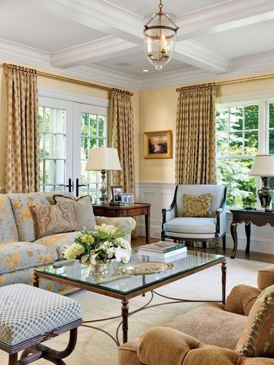 khaki living room 23
