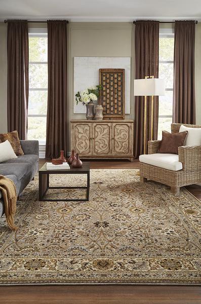khaki living room 6