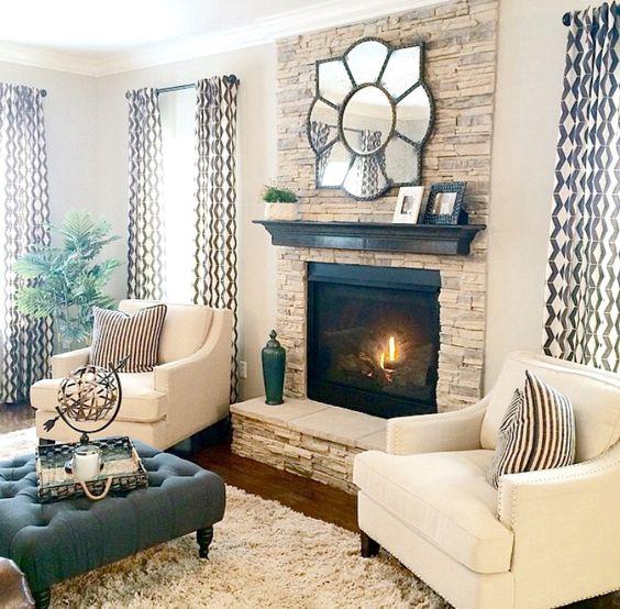 khaki living room 7