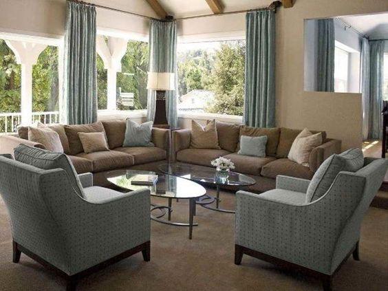 khaki living room 9