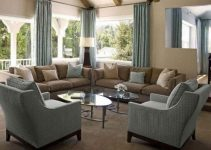 khaki living room feature