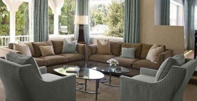 khaki living room feature