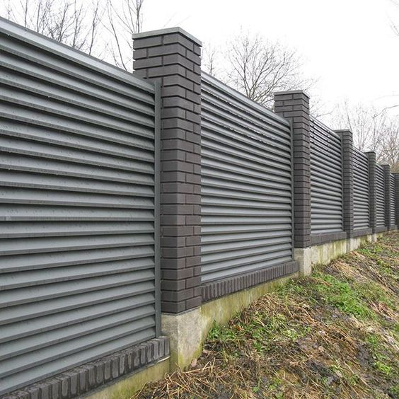 louvered fence 13