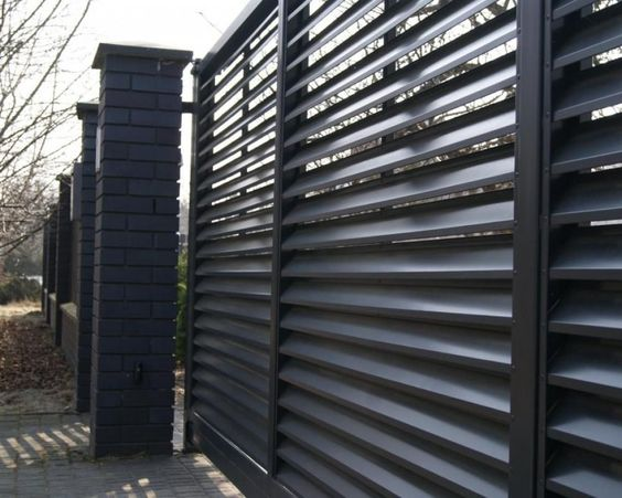louvered fence 14