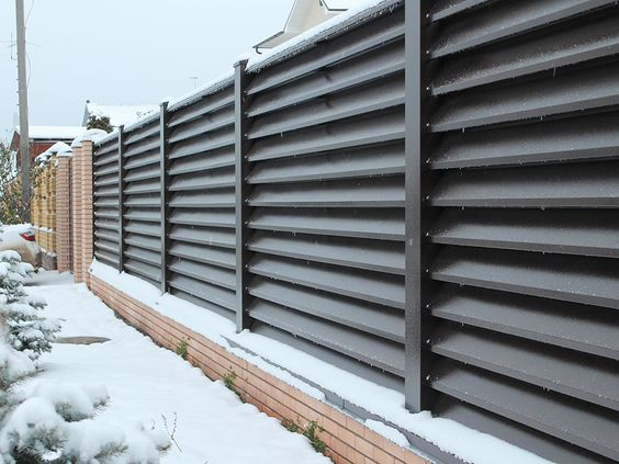 louvered fence 17