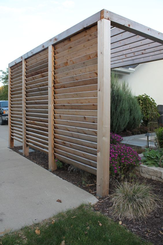 louvered fence 3