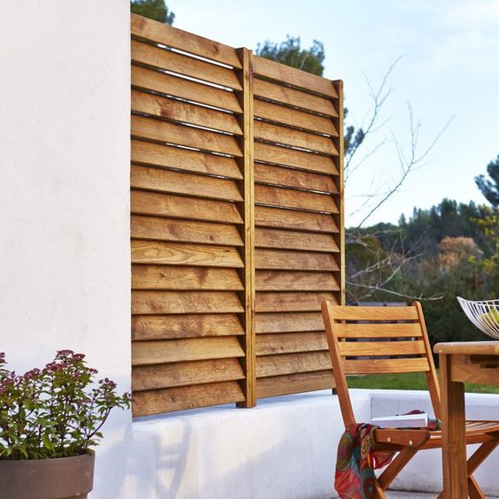 20+ Most Beautiful Louvered Fence Ideas to Decorate Your Home