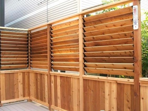 louvered fence 5