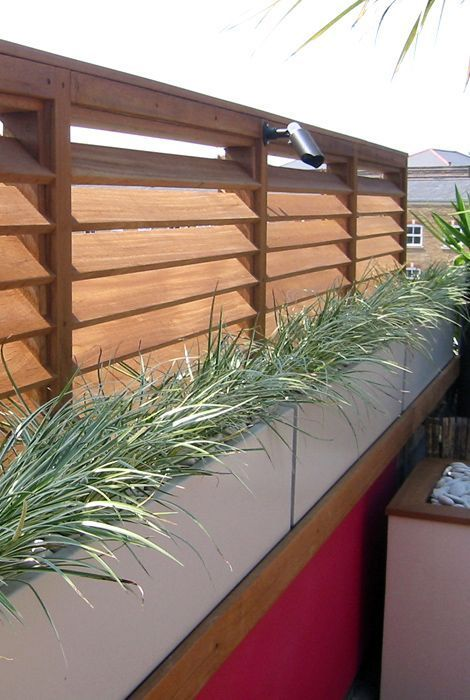louvered fence 6