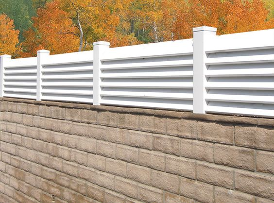 louvered fence 8