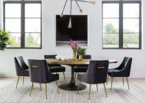 modern dining room feature