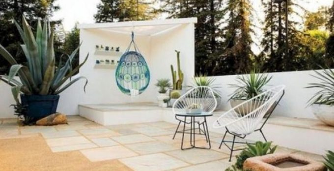 modern patio ideas feature