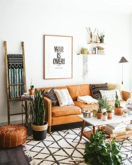 orange living room furniture 10
