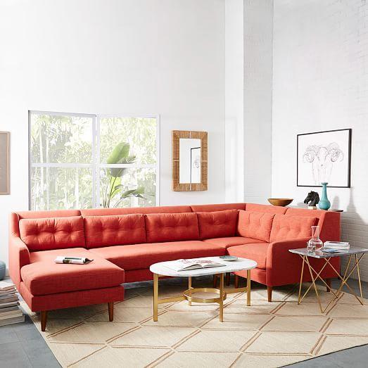 orange living room furniture 13